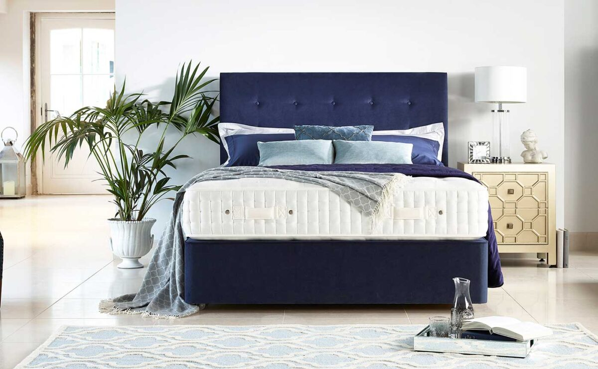 Harrison sustainable bed and mattress