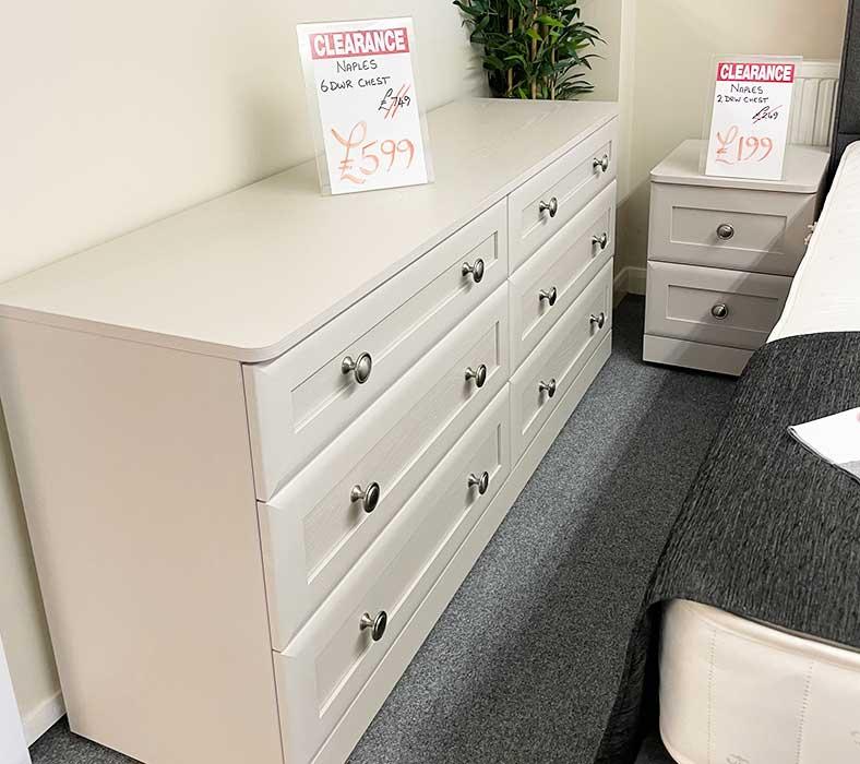 Naples 6 drawer chest