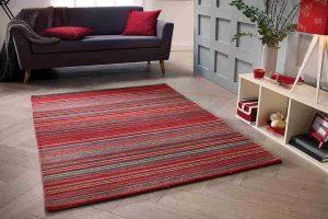 Flooring Rugs – Carter Red Roomshot