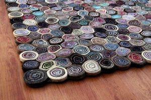 Flooring Rugs – Sushi Multi Detail