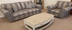 Slide-Spring-Clean-Cambridge 3 Seater Sofa and Armchair