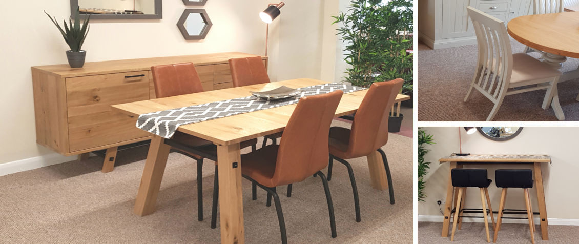 Slide-Stockholm Table and Chairs – Compound